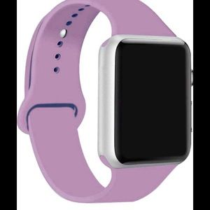 Apple Watch band silicone lavender 38/40mm New